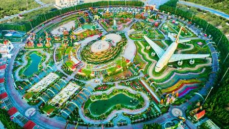 Jardín de Dubai