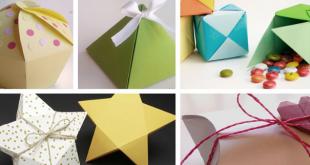 Aprende hacer cajas de regalo en 4 pasos.